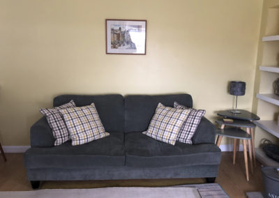 sofa and side tables