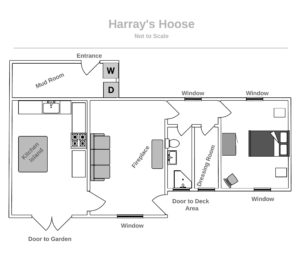 Harray's Hoose Floorplan