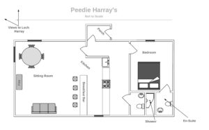 Peedie Harray's Floor Plan